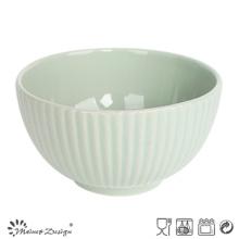 13.5cm en relieve Cereal Bowl estilo coreano