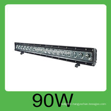 Hot sale 90W IP68 DC10v-30V hid car led work light bar