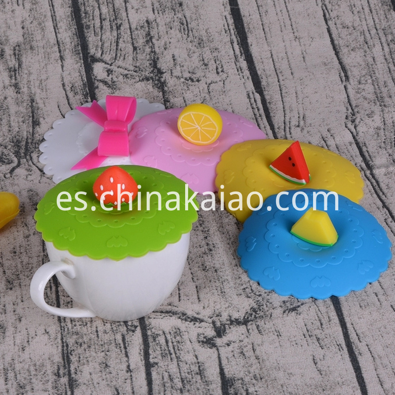 Silicone Cartoon Mug Lid