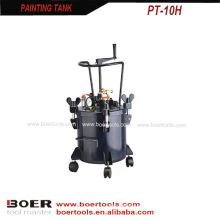Tanque de pintura com misturador tipo de mão 10L 20L 40L