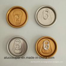 Beverage Can with 202 Sot Rpt Tapas de aluminio de Eoe