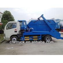 DFAC 4000L camión de basura, saltar camión de basura