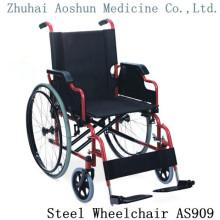 Chaise multifonctionnelle en acier As909 en fauteuil roulant en acier