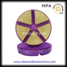 Diamond Edge almohadillas de pulido para granito de mármol de vidrio