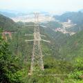 220kv Torre de transmisión eléctrica de acero de esquina