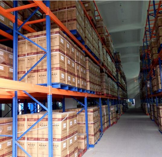 Pallet Racking for Storage of Pallets