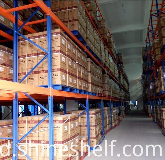 Warehouse Shelving for Pallet Storage