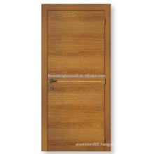 Popular honeycomb paper core interior flush room door design