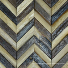 Popular in Brazil Home Application Antique Style Nature Wood Mosaic