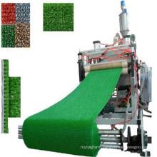 PE Artifical Hard Plastic Waterproof Grass Mat Making Machine