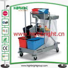 Hotel Wringer with Basket Trolley Carts