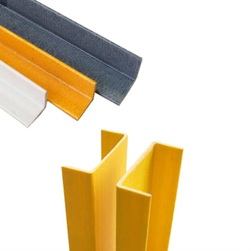 Anti-korosi FRP Rectangular Tube Fiberglass Square Tubes