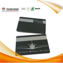 Carte de visite en PVC noir haute sécurité