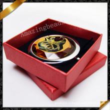 Цветочный узор Crystal Glass Зеркала Ювелирные изделия с коробкой (MW009)
