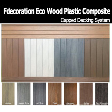Factory Direct Sales Decorative Capped WPC Deck Walkboard