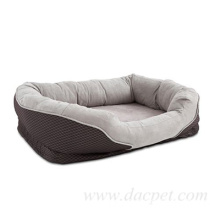 Round Design Square Waterproof Dog Bed