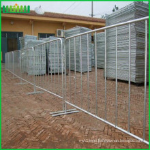 Galvanized construction security fencing berth guardrail for sale