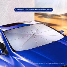 New Design Car Front Window Sunshade Umbrella with Silver Coating