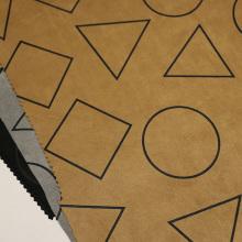 Geometrie Designs Wildleder Stoffe für Mantel / Jacke