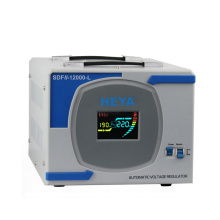 Single phase servo motor type 220v ac 10kw automatic voltage regulator for household appliance