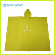 Klares Leichtgewicht EVA Regen Poncho Rvc-005