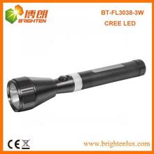 Usine d'alimentation en plein air Usage Etats-Unis Cree led XPE R2 3w Aluminium Portable rechargeable torche torche torche japonaise