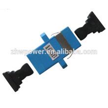 15 atenuadores de fibra óptica Db Sc, atenuador de fibra óptica de alta qualidade 10 Db Sc, atenuador SC UPC, atenuador de impacto