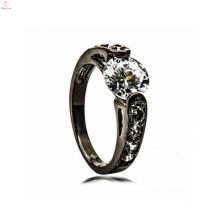 Black Copper engagement ring Jewelry supply it bridal jewelry set For Women