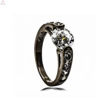 Черный обручальное медное кольцо поставку ювелирных изделий свадебный комплект ювелирных изделий для женщин