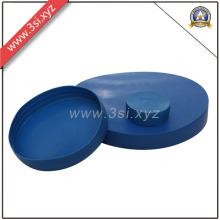 Capsules protectrices d'extrémité de tuyau bleu en plastique anti-correction (YZF-H154)