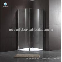 cabine de douche de luxe populaire cabine de douche en verre coulissante Frameless