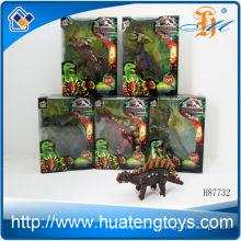 2013 heißer Verkauf Plastiktier spielt Dinosaurier stellte kleine Tiere Plastikspielwaren für Kind ein
