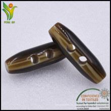 Producción a Granel Tipo de Aceite Resina Búfalo Botón Toggle para la Capa