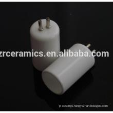 High resistant alumina ceramic caps