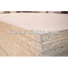 1220*2440*18mm laminated particle board/melmaine particle board