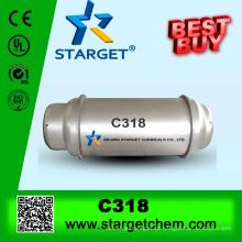 Octafluorociclobutano, C-318, H-318, C318, R-318, R318, C4F8