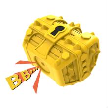 Explosive Sounding Rubber Molar Teeth Cleaner Treasure Box Dog Toy