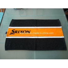 100% Cotton Reactive Printed Golf Towel (SST1006)