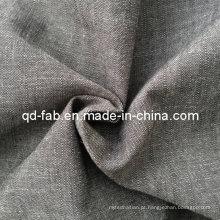 100% fio de algodão tingido tecido (QF13-0762)
