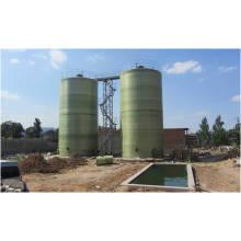 Tanque de fermentação de 500 M3 de biogás feito por fibra de vidro