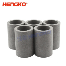 Industrial stainless steel sintered porous metal filter tube used for Industries filtration