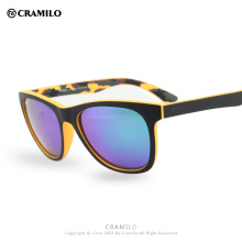 Cramilo Beach Force square wayf club Frame UV400 Coating Mirror gradient Outdoor Fashion Radiation Multicolour Sunglasses BF555R