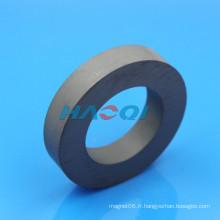 Cercle de forme d'aimant en céramique ferrite 100X60X20mm