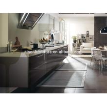 La mejor fábrica de la opción directamente sitio que ahorra el gabinete gris de la cocina