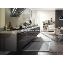 The best choice factory directly room saving gray kitchen cabinet