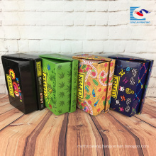 custom packaging printing counter display box for snacks and toys