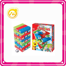 Stacking Colorful Tower Game for Children Playing