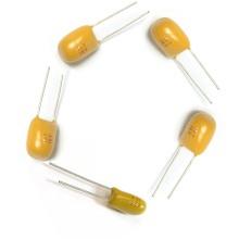 4.7uF 16V Radial tantalio condensador amarillo 476 K 50V