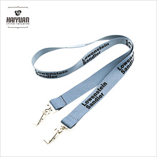 Lanyards ID com Double Double Bulldog Clips