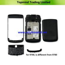 Piezas para teléfonos móviles Blackberry Bold 9700 Housing Cover Panel